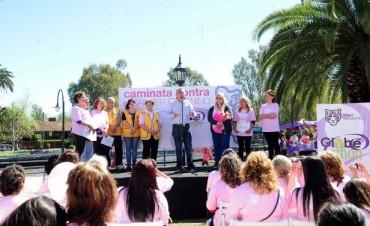 Tigre volvió a concientizar sobre el cáncer femenino