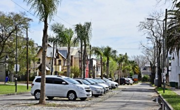 Avanza la colocación de adoquines en el Boulevard de la calle Escalada