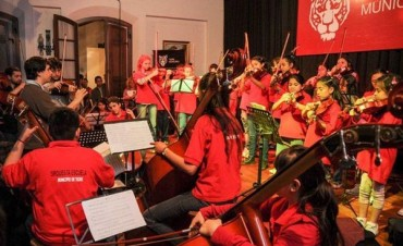 El talento de la Orquesta Escuela Tigre cierra