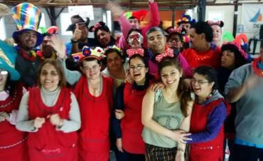 El Taller Protegido de San Fernando para personas con discapacidad tuvo un particular festejo primaveral