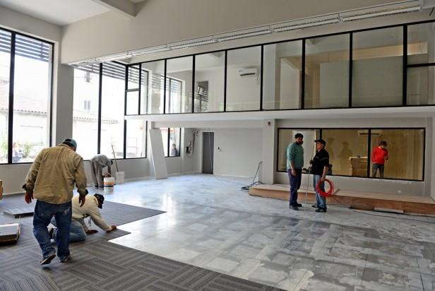 El nuevo Centro de Monitoreo de San Fernando, en su última etapa