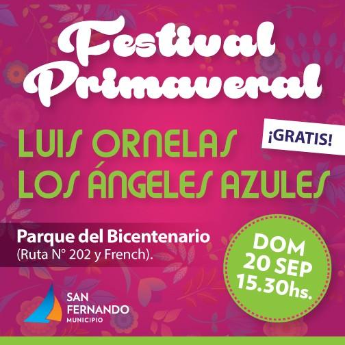 """Festival Primaveral"" en San Fernando"