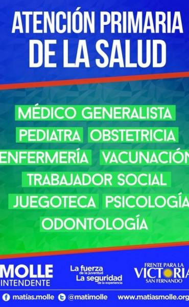 Operativo de Salud en San Fernando