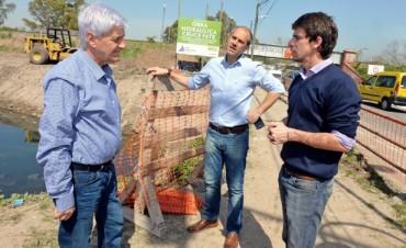 El Municipio de San Fernando realiza obras hidráulicas en el zanjón Fate