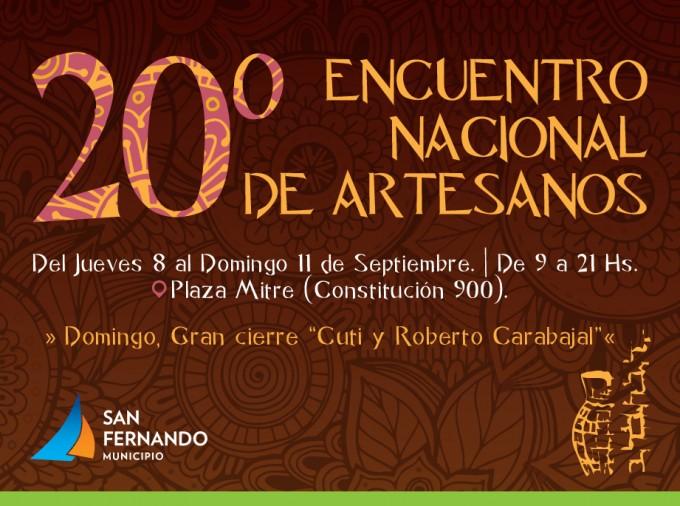 20° Encuentro Nacional de Artesanos en San Fernando