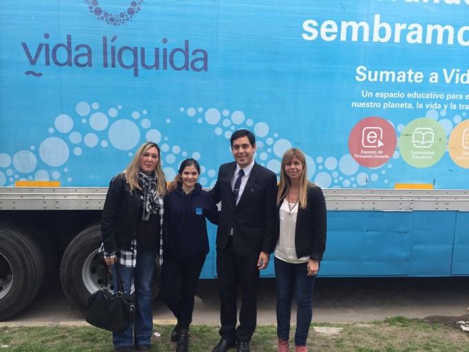 San Fernando y AySA concientizan sobre el uso del agua en establecimientos educativos