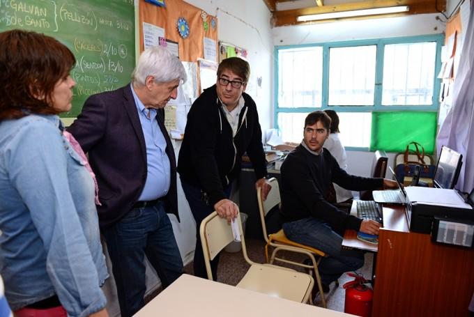 El Municipio conecta Internet en las escuelas de San Fernando