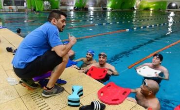 El Municipio organiza la práctica de Natación Competitiva