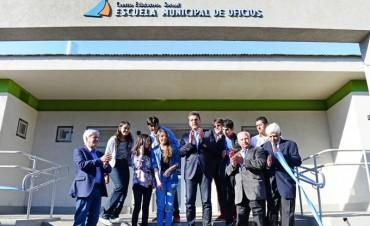 Andreotti y Massa inauguraron la Escuela Municipal de Oficios de San Fernando