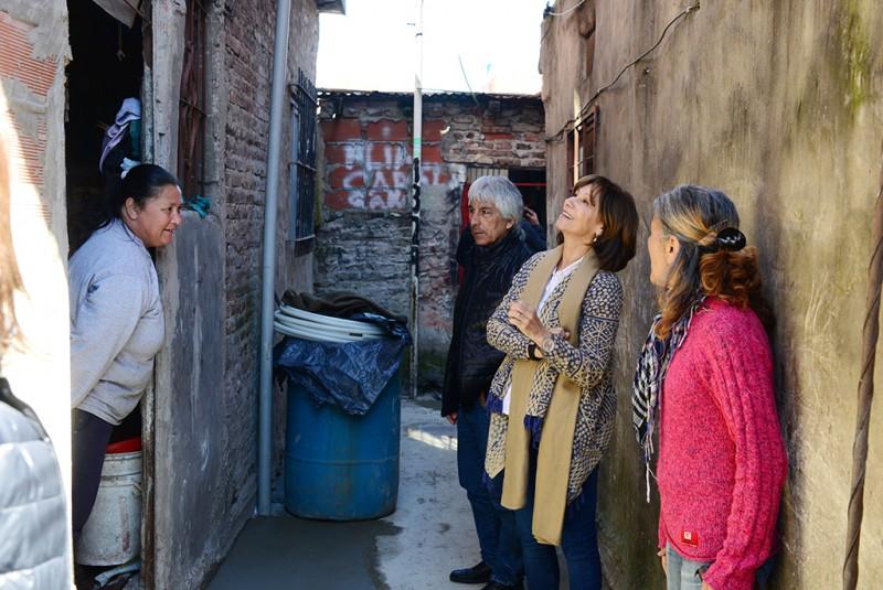 El Municipio ayuda a los vecinos de Villa Hall mediante el Programa SOL