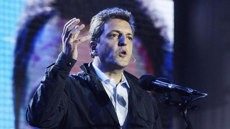 Sergio Massa rechazó la propuesta de Cristina Kirchner: