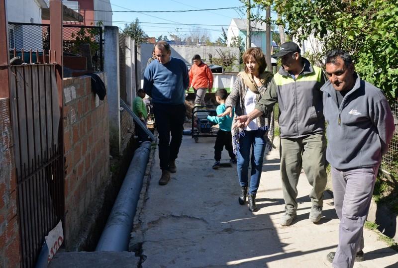 El Municipio profundiza el Programa SOL en el barrio Malvinas Argentinas