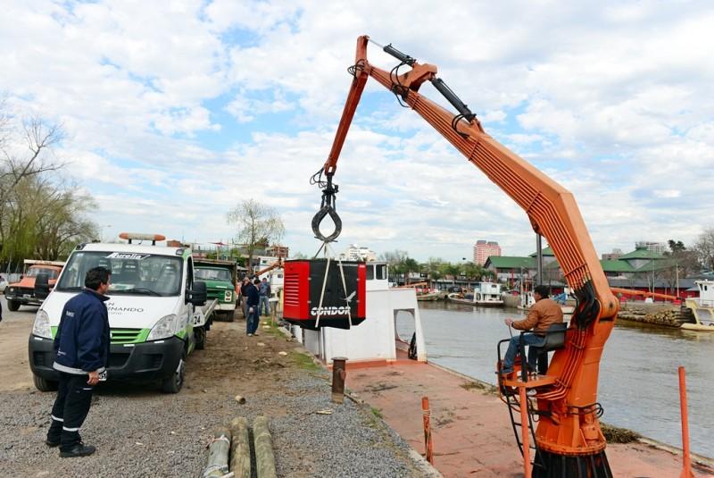 San Fernando implementó un nuevo generador eléctrico en el Hospital de Islas 'Dr. Oscar do Porto'