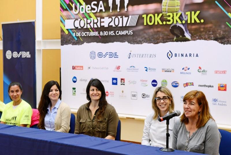 """Inscripciones abiertas para la maratón """"UdeSA corre 2017"""" en San Fernando"""