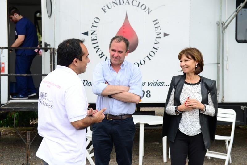 San Fernando presente en la campaña de donación de sangre de UdeSA