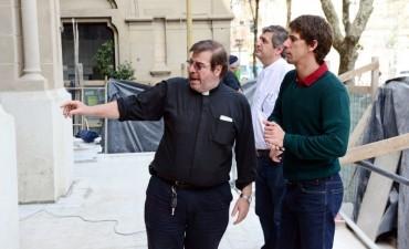 El Municipio hizo entrega de un nuevo subsidio a la Parroquia Nuestra Señora de Aránzazu
