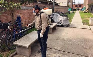 San Fernando continúa con los controles de plagas en el Barrio Crisol