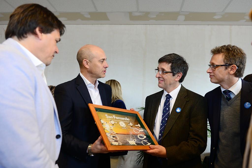 San Fernando acompañó el 180° aniversario de la Escuela Escocesa San Andrés