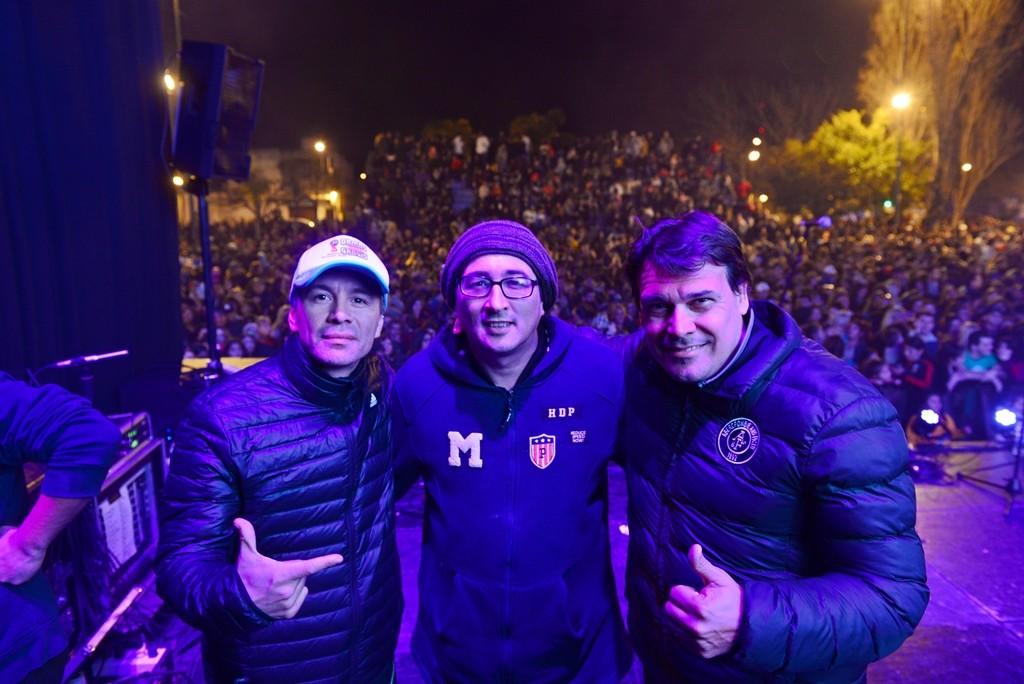 Con la visita de Pablo Lescano, miles de sanfernandinos disfrutaron el Festival Tropical
