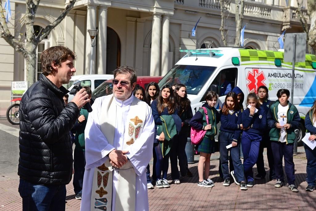 Se realizó una peregrinación previa a las fiestas patronales de Nuestra Señora de Aránzazu
