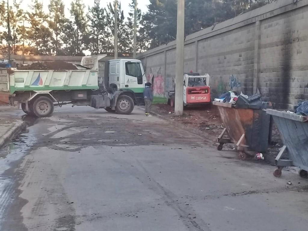 San Fernando sostuvo tareas de limpieza urbana en el barrio San Jorge