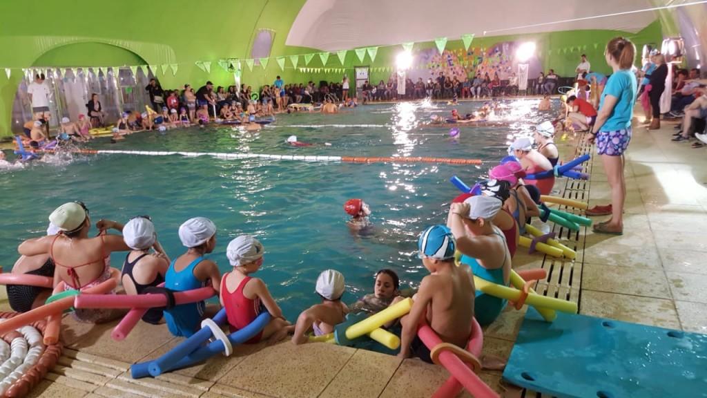 El Área de Discapacidad de San Fernando sostuvo una clase abierta de natación en el Poli N° 6