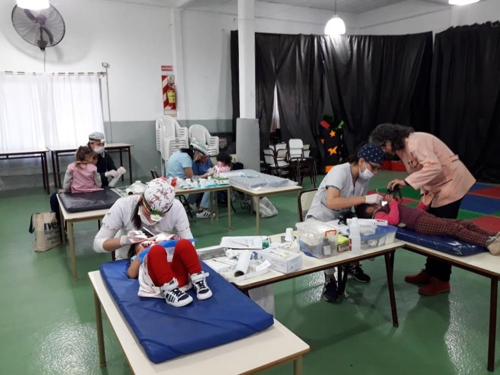El Municipio realizó controles odontológicos en el Jardín Maternal Santa Catalina
