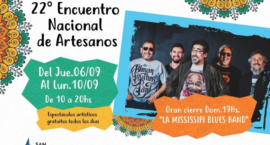 Llega el 22° Encuentro Nacional de Artesanos de San Fernando