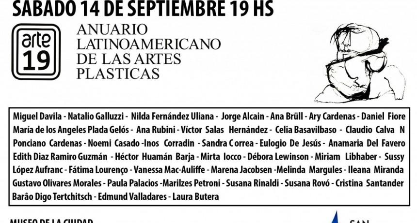 Este sábado, llega el Anuario Latinoamericano de Artes Plásticas a San Fernando