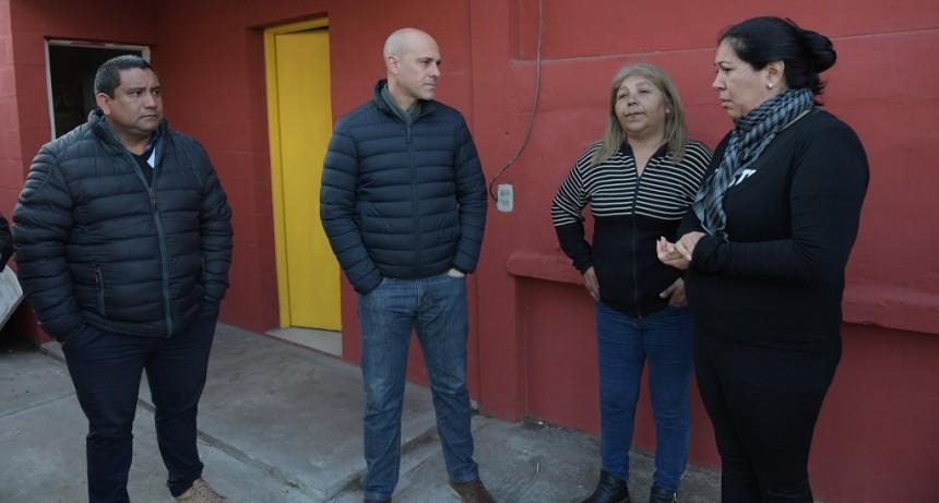El Municipio ayuda al Club Güemes a mejorar su infraestructura