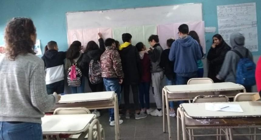 San Fernando dictó un Taller de Sensibilización de las Emociones a alumnos de la Escuela N° 27