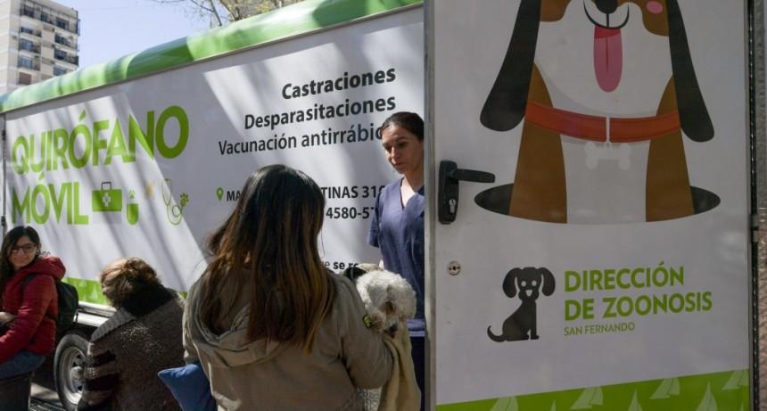 El 'Municipio en tu Barrio' volvió a la Plaza Mitre de San Fernando