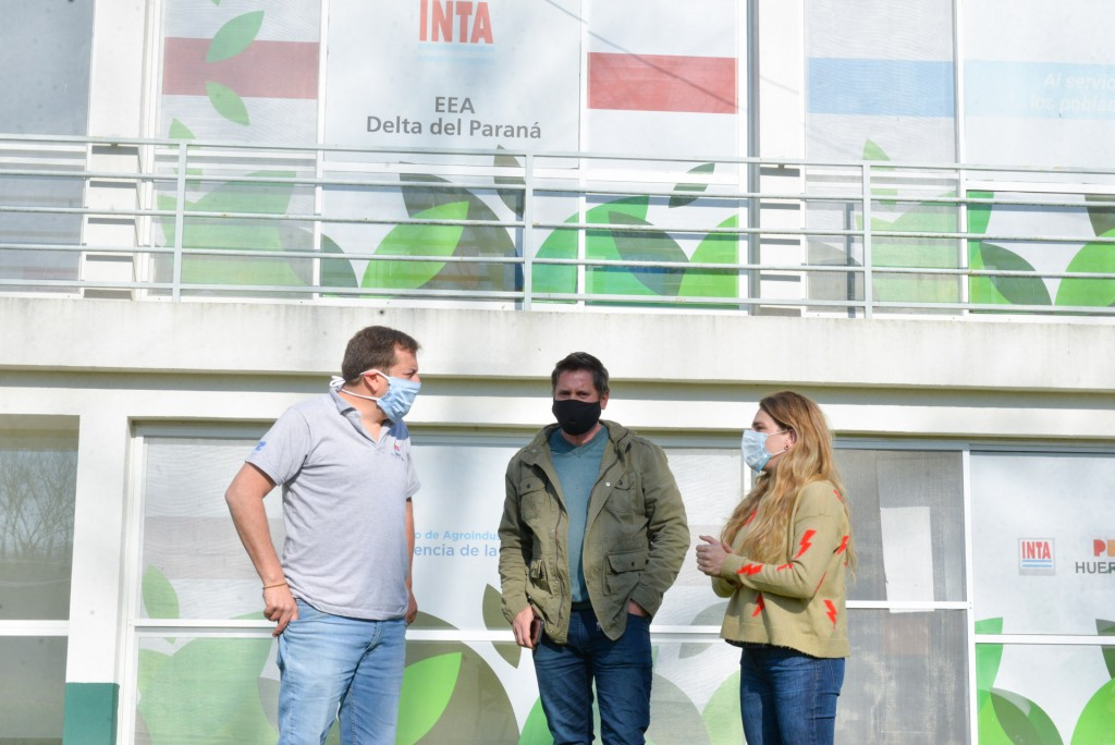 Autoridades de San Fernando visitaron INTA Delta para avanzar en beneficios para las Islas