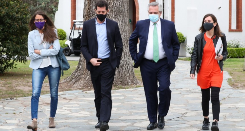 """ALBERTO FERNÁNDEZ: """"UNA SOCIEDAD MÁS JUSTA SOLO SE CONSTRUYE SI TODOS LOS DÍAS INYECTAMOS IGUALDAD Y DAMOS DERECHOS"""""""