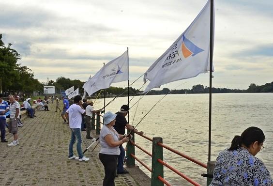 3° Edición del Torneo de Pesca para adultos mayores en San Fernando