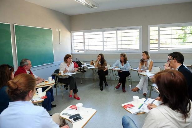 Tigre junto a las Escuelas de gestión privada