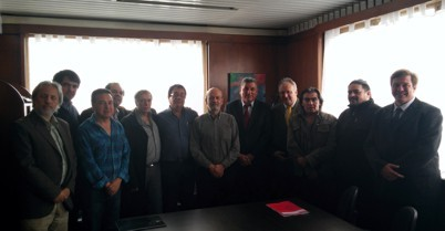 Reunión de la Mesa de Comunicación Scioli 2015