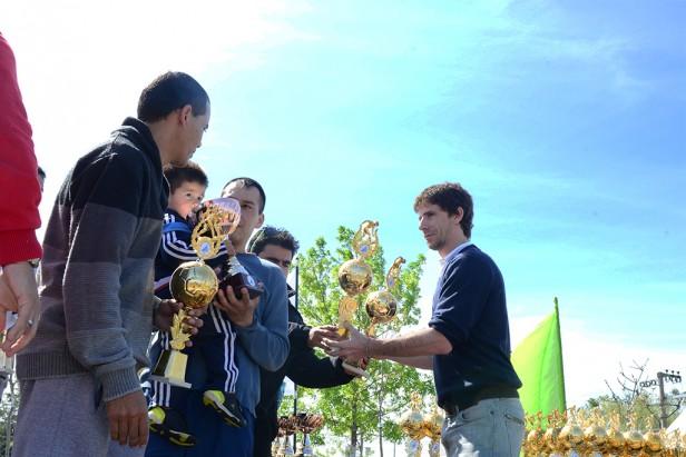 El Municipio de San Fernando premió a los ganadores del Torneo de Fútbol de Veteranos