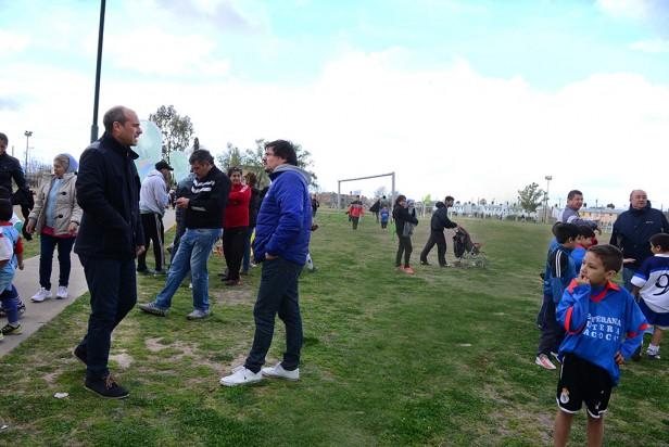 San Fernando festejó el Día de la Familia con los chicos de la Liga Municipal de Fútbol Infantil