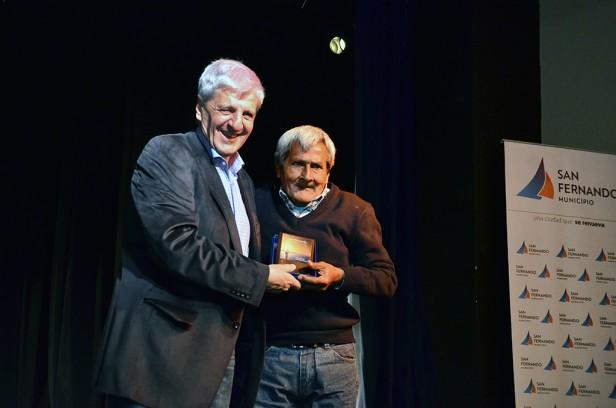 Andreotti homenajeó a trabajadores municipales de San Fernando jubilados