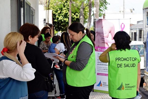 Programa Preventivo contra el Cáncer de Mama en San Fernando