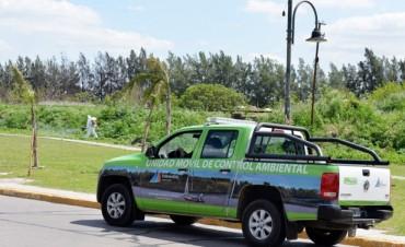 El Municipio llevó adelante un importante operativo de Control de Plagas en Villa Jardín