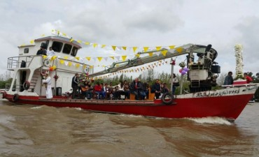 El Municipio acompañó las Fiestas Patronales de la Virgen Nuestra Sra. del Rosario, en el Delta de San Fernando