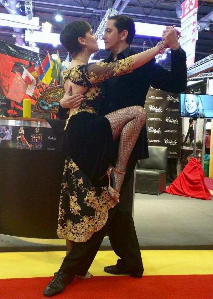 Cátulo Tango presente en la Feria Internacional de Turismo