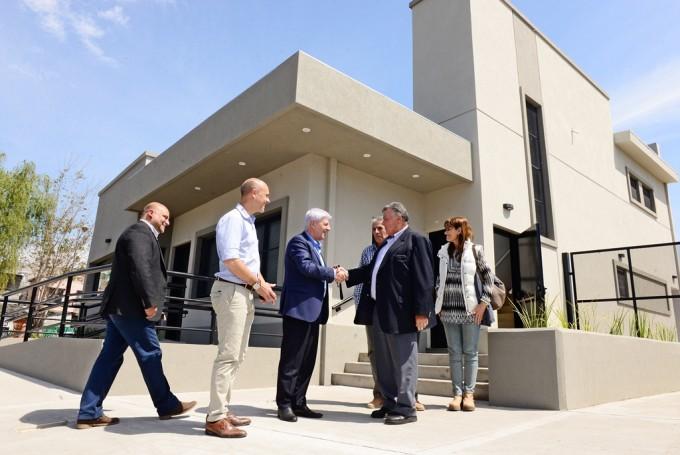 Andreotti visitó la nueva Fiscalía de Drogas Ilícitas, próxima a inaugurarse