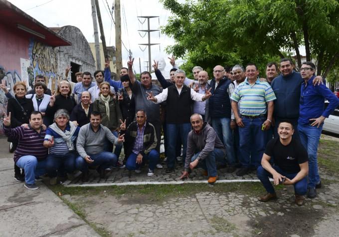 Referentes y militantes peronistas del FR recordaron el
