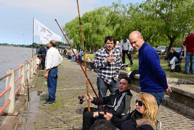 El Torneo de Pesca de San Fernando celebró su penúltima fecha