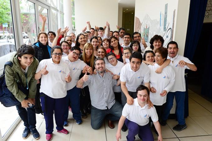 Los chicos del Taller Protegido de San Fernando festejaron el Día de la Familia