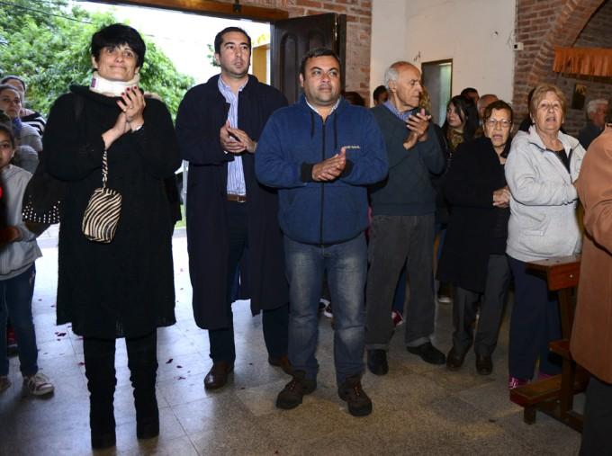 CON UNA PROCESIÓN Y MISA, SE VENERÓ EN VIRREYES A NUESTRA SEÑORA DE ITATÍ