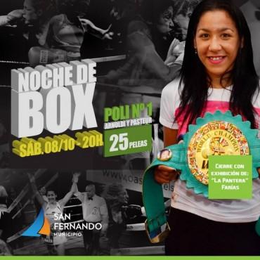 NOCHE DE BOX CON 'LA PANTERA' FARÍAS!